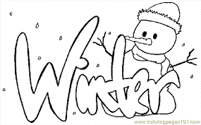 Small Picture Winter Coloring Page 17 Coloring Page Free Holidays Coloring