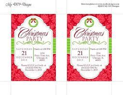 Company Christmas Party Invite Template Company Christmas Party Flyer Template Free Bellafabricsva Com