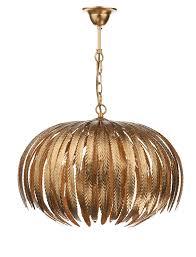 balon gold leaf pendant intended for brilliant property gold leaf chandelier plan