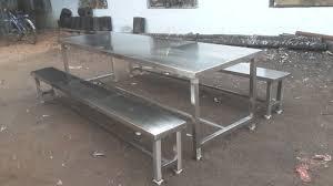 stainless steel furniture bag storage tubular rack manufacturer from chennai