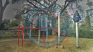 visalia outdoor gym for street workout blaine park
