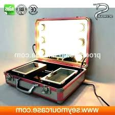 makeup train case with lights makeup train case with lights makeup train case with lights photo