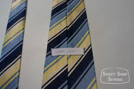 Tie Patterns Interesting Free Men's Neck Tie Pattern And Tutorial Sweet Shop Sewing