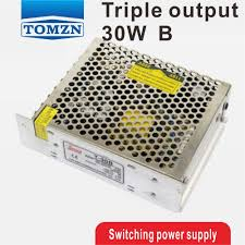 <b>30W Triple output</b> 5V 24V 12V <b>Switching</b> power supply smps AC to ...