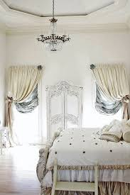 romantic bedroom window treatments. Fine Window Romantic French Cottage Bedroom Small Step Up To The Bed Lovely  Chandelier Ornate Moulding Around Door Rich Fabrics Curtains With Bedroom Window Treatments T
