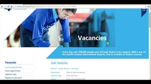 Jobs Vacancies In Dubai Airport Youtube