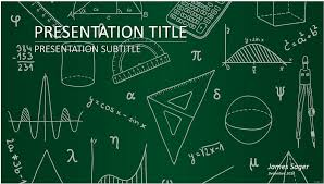 Math Templates Powerpoint Math Templates Affordable Presentation Background Samples