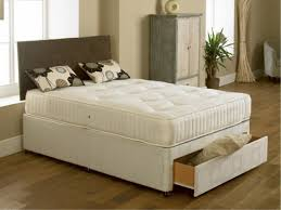 Small Double Bedroom 4ft Small Double Divan Bed With Orthopaedic Mattress