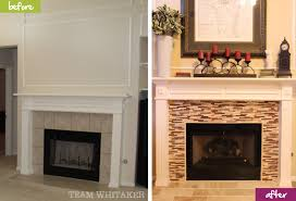 before after the fireplace team whitaker