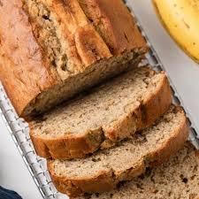 easy banana bread recipe baked by an
