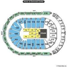 The Gwinnett Center Seating Chart Infinite Energy Seating Chart Slubne Suknie Info