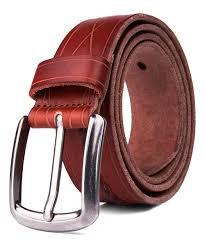 all gone cognac diamond stitch leather belt