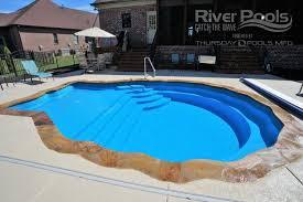 fiberglass pool shapes. Fine Shapes Pearlfiberglasspoolphoto And Fiberglass Pool Shapes L