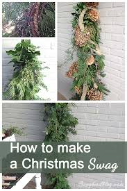 how to make a front doorMy Christmas front door decorations  Songbird