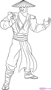 Free Printable Mortal Kombat Coloring Pages
