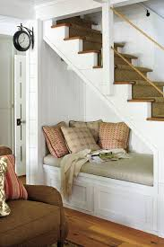 under stairs furniture. kettles helped to make use of every inch under the stairwell he designed a stairs furniture
