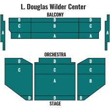 Cnu Ferguson Center Seating Chart L Douglas Wilder Center Norfolk Virginia Symphony Orchestra