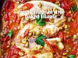 recipe s thood terranean style baked tilapia