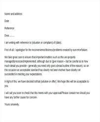 Complaints Letter Format Customer Complaint Response Letter Sample Template Client