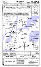 New Approach Chart For Miracle On The Hudson Landing Wired