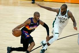 Giannis doubtful for game 1 as bucks and suns begin series in phoenix. Milwaukee Bucks Vs Phoenix Suns 7 8 2021 Time Tv Channel Live Stream Nba Finals Game 2 Syracuse Com