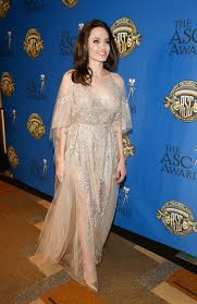анджелина джоли в искрящемся платье восхитила всех на кинопремии
