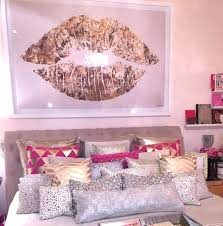 Pink And Gold Room White And Gold Bedroom Decor Gold White Bedroom ...
