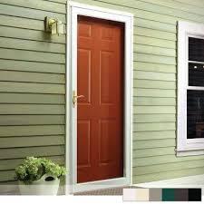 2000 series full view interchangeable aluminum storm door