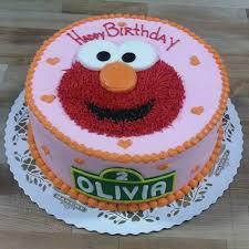 Pink Elmo Cake Kidsbirthdaycakewithyeargq