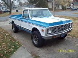 1972 chevy cheyenne 4x4 california truck factory a/c - The ...