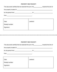 house rent receipt pdf 10 free rent receipt templates