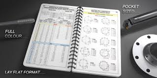 Machining Reference Charts Engineers Black Book Machinist And Manufacturing Reference Book
