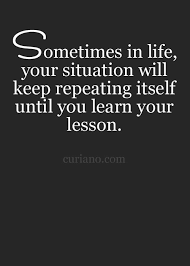 Lesson In Life Quote