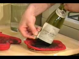 removing labels from wine bottles