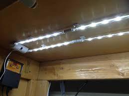 fluorescent under cabinet lighting kitchen. Image Of: Led Under Cabinet Lighting White Color Fluorescent Kitchen