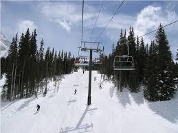 image of ski lift chair