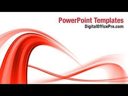 wave powerpoint templates red abstract wave powerpoint template backgrounds digitalofficepro