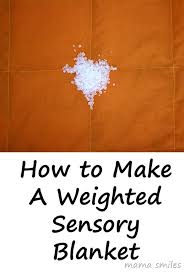 how to sew a weighted blanket sewing tutorial sensory friendly