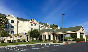 the building where the hotel is located the swimming pool at or near hilton garden inn gilroy