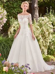 sleeved wedding dresses in lace chiffon tulle and crepe love