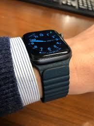 my watchmy new forest green leather loop on a space gray s4 i redd it