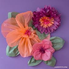 Tissue Paper Flower Decorations Jumbo Tissue Paper Flowers Lia Griffith