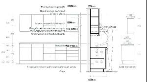 Kitchen Cabinets Size Chart Graceremodeling Co