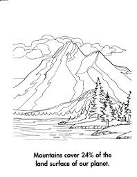 Small Picture mountain scenery coloring pages coloring pages Pinterest