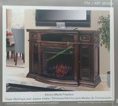 ember hearth electric fireplace costco marvelous well universal