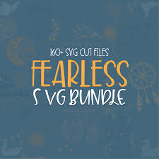 Fearless Svg Bundle 160 Positive Quotes Svg Cut Files Lovesvgcom