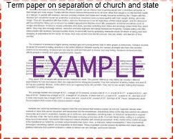 term paper on separation of church and state research paper help term paper on separation of church and state