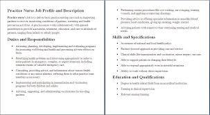 Job Descriptions Nurse Job Description Certified Nursing