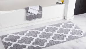 striped lauren gray and blue cotton bathroom rugs runner target mats grey black rug chevron ralph