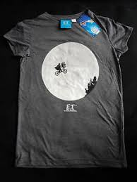 Details About Bnwt Primark Et The Extra Terrestrial Movie Logo T Shirt Top
